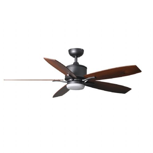"Fantasia Prima Elite LED 52"" Natural Iron Ceiling Fan + Remote 117186"